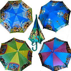 0102-19 Детский зонт микс Star Rain полуавтомат, 8 спиц