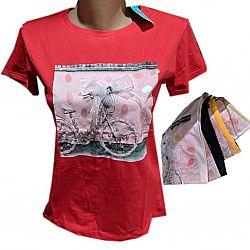 42-25 Футболка женская норма ММS Бант +велосипед 1шт