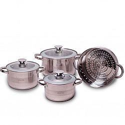 4502S Набор посуды 7пр(кастрюли 2,9л+3,9л+6,5л+пароварка 24см)