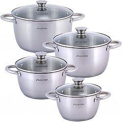 4904 Набор посуды 8пр(кастрюли 1,5л+2,0л+3,0л+5,0л)
