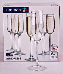 7003 Allegress бокал для шампанского 175мл 6шт