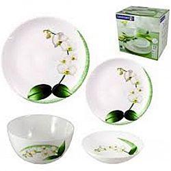 Diwali White Orchid Сервиз столовый 19пр