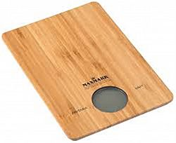 Весы кухонные до 5кг, бамбук МК-SC-122