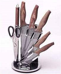5139 Набор ножей 8пр на акриловой подставке