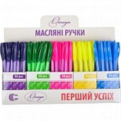 Ручка масляная DELTA цветной корпус синяя 0,7мм