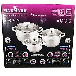 Набор посуды 6 пр (каст. 1.5л+каст 3л+каст.5л) MK-3506К