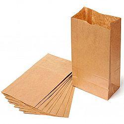 Пакет бумажный 100/70/20/230 (100шт)