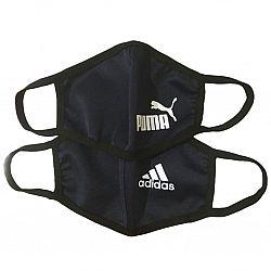 Маска для лица Puma Adidas взрослая плотная 1шт