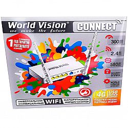 Роутер World Vision Connect с поддержкой 4G модема