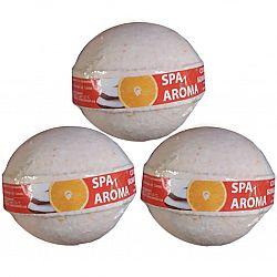 Сольова бомбочка для ванн Апельсин та кокосова олія