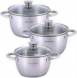 4905 Набор посуды 6пр(кастрюли 1,5л+2,0л+3,0л)