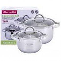 5627S Набор посуды 4пр(кастрюли 2,1л+3,8л)