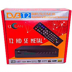 Т2 ресивер HD SE Internet TM UCLAN METALL