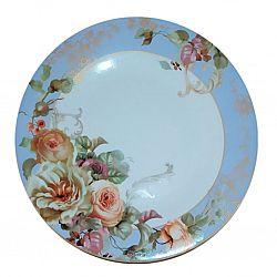 Тарелка стеклокерамика полноцветная Купаж AURA обеденная 23см Vittora