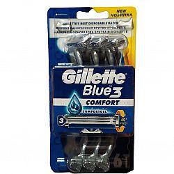 Станки Gillette 3 комфорт. 6 шт