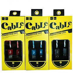 USB-шнур/зарядный кабель пластик обмотка,в коробке