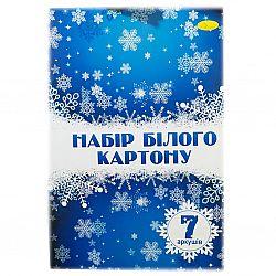 Картон белый А4 7 листов, 235гр/м2, ПЛОТНЫЙ