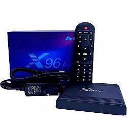 Смарт TV Андроид приставка Х 96 AIR Amlogic S905X3 память 4/64ГБ Android 9.1