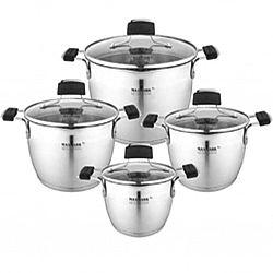 Набор посуды 8 пр (каст. 1.5л+каст 2л+каст.3л+каст.5л) MK-VS-5408LG