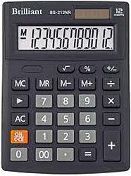 Калькулятор настольный BRILLIANT BS-212NR 12 разрядов 10,3*13,7*3,1см
