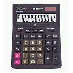Калькулятор настольный BRILLIANT BS-8888ВК 12 разрядов 15,5*20,5*3,5см
