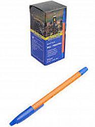 Ручка шариковая ORANGE Buromax синяя 0.7мм