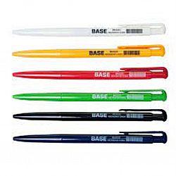 Ручка шариковая автомат BASE Buromax синяя 0.7мм