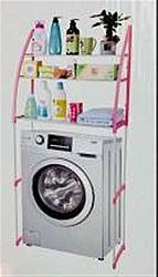Стеллаж для хранения на стиральную машинку(металл-пластик)
