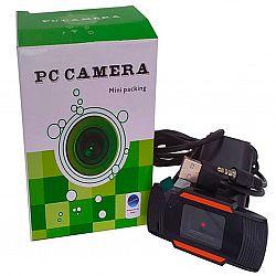 Web-камера 720Р USB 2.0 черная+аудио шнур Jack 3.5