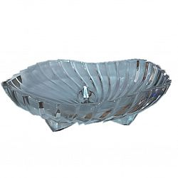 Фруктовница круглая в упаковке 200мм Crystal Barokko