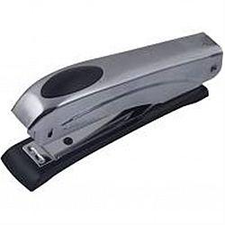 Степлер №10 12л металл(11*2,5*4см) СЕРЕБРО+cкобы ВМ 4400
