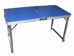 Стол для пикника усиленный раскладной чемодан,цвет-синий