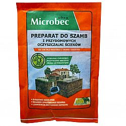 Microbec средство для выгребных ям, септик, 25 г