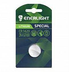 Батарейка ENERLIGHT LITHIUM CR 1620 солевые 1шт блистер