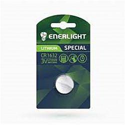 Батарейка ENERLIGHT LITHIUM CR 1632 солевые 1шт блистер
