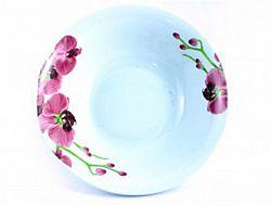 3663 Тарелка глубокая суповая №8 d-20 Орхидея