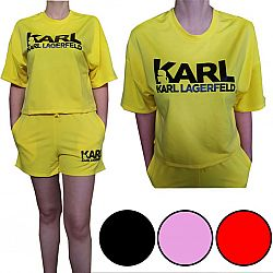 №1 Костюм женский футболка + шорты Kart р.50