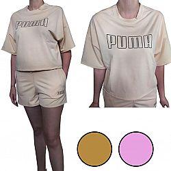 №3 Костюм женский футболка + шорты Puma р.48