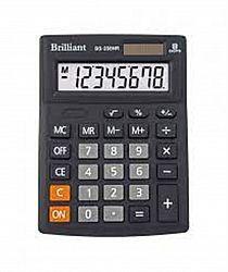 Калькулятор настольный BRILLIANT BS-208NR 8 разрядов 10,3*13,7*3,1см