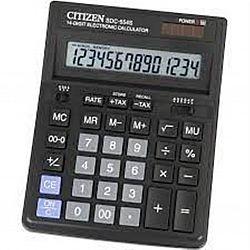 Калькулятор настольный SITIZEN SDC-554S 14 разрядов 15,0*20,0*2,5см