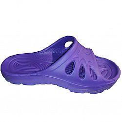 Шлепки подросток Класика (р.с 35 по 40) фиолетовые по 8шт в уп.