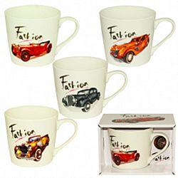 """Чашка керамика """"Fashion AUTO"""" в подарочной упаковке 400мл"""