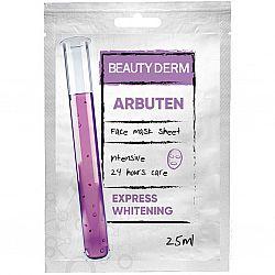 Тканинна маска для обличчя Інтенсивна Арбутин ТМ BeautyDerm, 25 мл