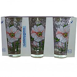 Набор стаканов 6шт*230мл Цветок Анемона