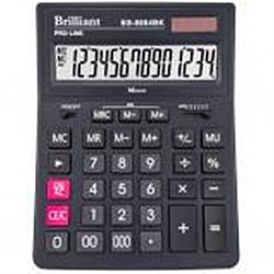 Калькулятор настольный BRILLIANT BS-8884ВК 14 разрядов 15,5*20,5*3.5см