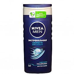 NIVEA_BATH гель 250 для_душу чоловічий Заряд_Свіжості_Cool_Kick