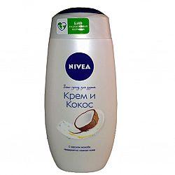 NIVEA_BATH крем-гель_для душу 250 Крем_Кокос