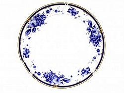 8862 Тарелка глубокая суповая №8 Голубая Роза