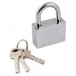 Замок навесной металл EXTRA 40мм+3 ключа