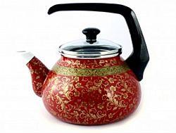 1818 Чайник эмалированный с бакелит ручкой 2,2л Арабская ночь(ТУР)